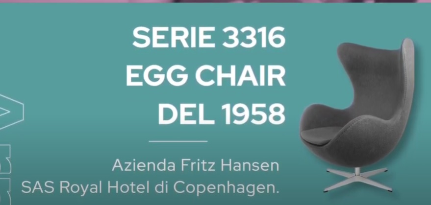La Egg Chair di Arne Jacobsen – Design del prodotto industriale